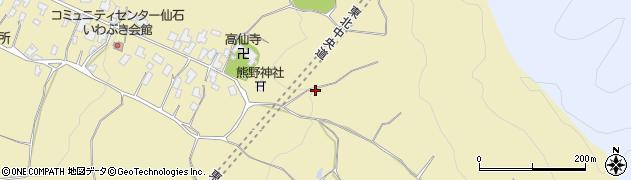 山形県上山市仙石122周辺の地図