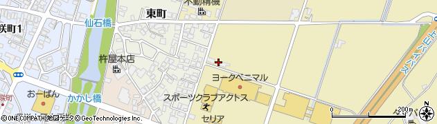 山形県上山市仙石大免755周辺の地図