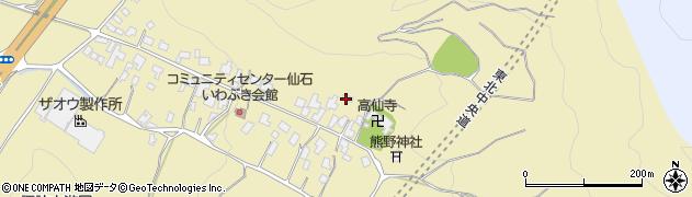 山形県上山市仙石8周辺の地図