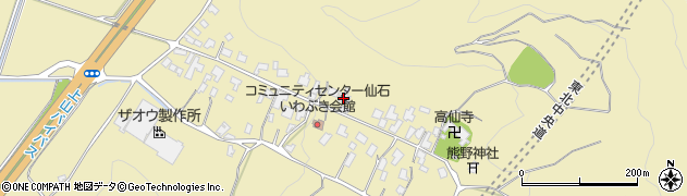 山形県上山市仙石20周辺の地図