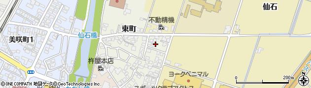 山形県上山市東町10周辺の地図