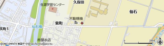 山形県上山市仙石久保田672周辺の地図