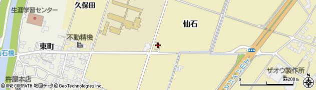 山形県上山市仙石631周辺の地図