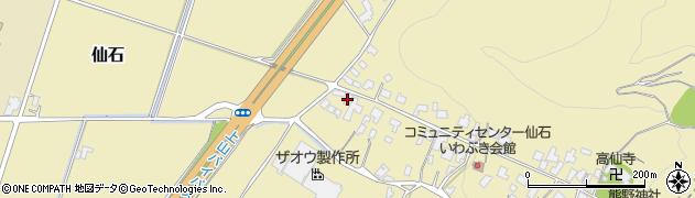 山形県上山市仙石48周辺の地図