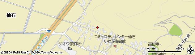 山形県上山市仙石40周辺の地図