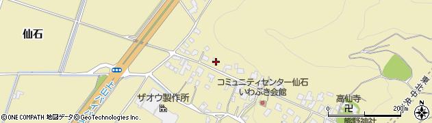山形県上山市仙石42周辺の地図