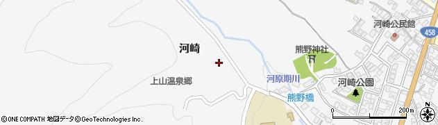 山形県上山市河崎反田681周辺の地図