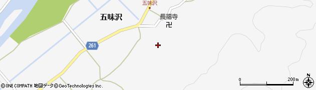 山形県西置賜郡小国町五味沢890周辺の地図