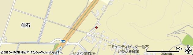 山形県上山市仙石1149周辺の地図