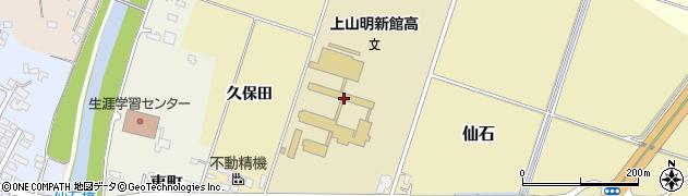 山形県上山市仙石650周辺の地図