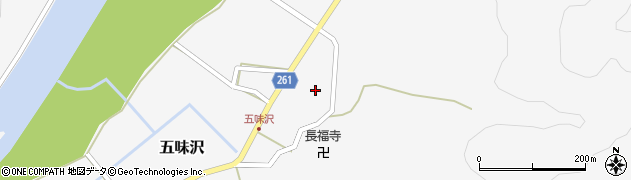 山形県西置賜郡小国町五味沢672周辺の地図