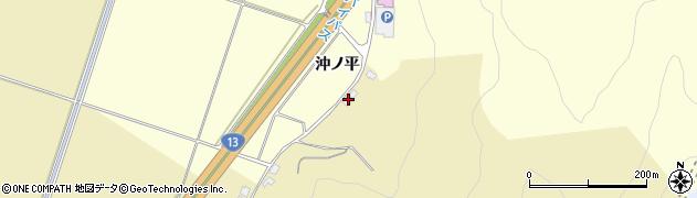 山形県上山市仙石下谷地1121周辺の地図