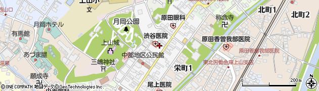 山形県上山市十日町7周辺の地図