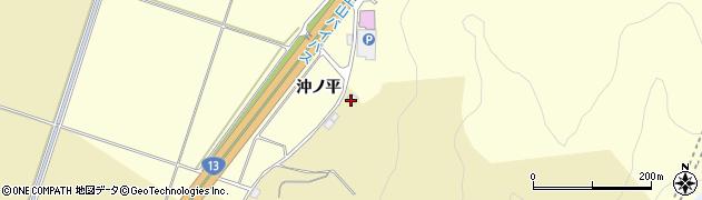 山形県上山市仙石(廻立)周辺の地図