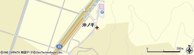 山形県上山市仙石廻立1122周辺の地図