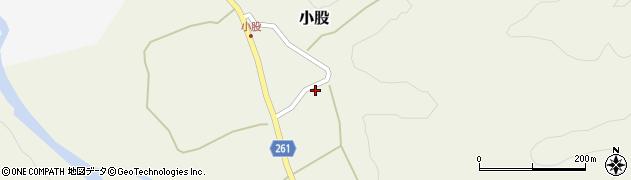 山形県西置賜郡小国町小股121周辺の地図