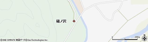 山形県西置賜郡小国町樋ノ沢周辺の地図