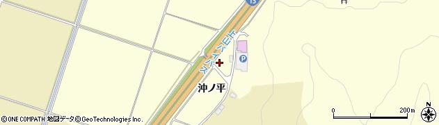 山形県上山市金谷沖ノ平1924周辺の地図