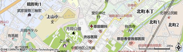 湯の上観音寺周辺の地図