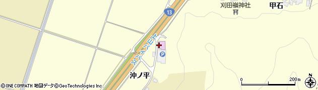 山形県上山市金谷沖ノ平348周辺の地図