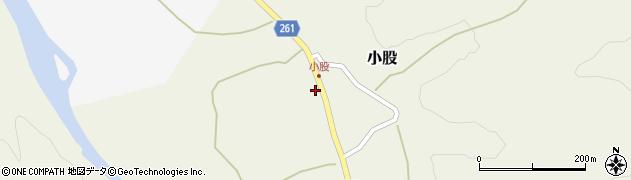 山形県西置賜郡小国町小股201-2周辺の地図