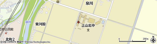 山形県上山市泉川松ノ木110周辺の地図