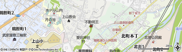 不動明王周辺の地図