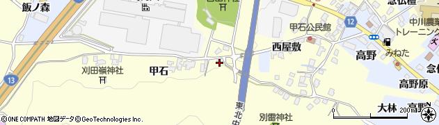 山形県上山市金谷442周辺の地図