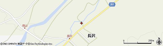 山形県西置賜郡小国町長沢324周辺の地図