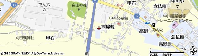 山形県上山市金谷1427周辺の地図