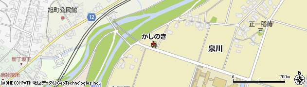 山形県上山市泉川東河原360周辺の地図