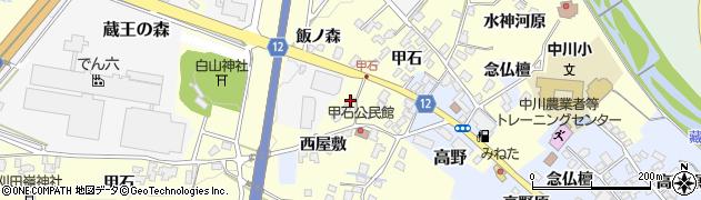 山形県上山市金谷西屋敷518周辺の地図