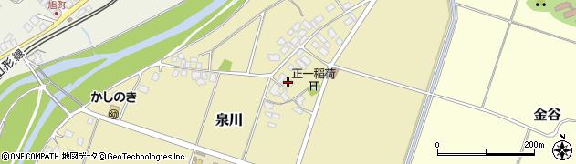 山形県上山市泉川2周辺の地図