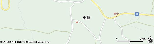 山形県上山市小倉1240周辺の地図