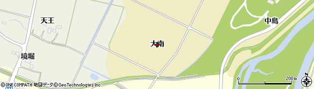 宮城県名取市小塚原(大南)周辺の地図