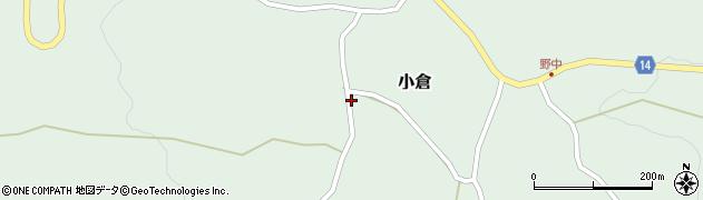 山形県上山市小倉19周辺の地図