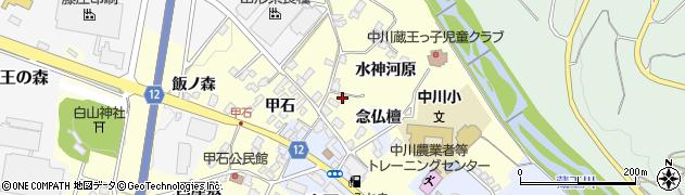 山形県上山市金谷甲石593周辺の地図