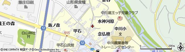 山形県上山市金谷念仏檀1470周辺の地図