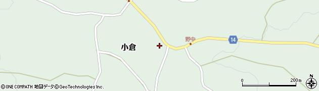 山形県上山市小倉46周辺の地図