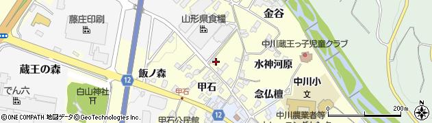 山形県上山市金谷1467周辺の地図