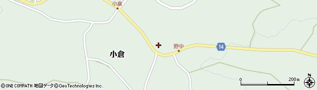 山形県上山市小倉68周辺の地図
