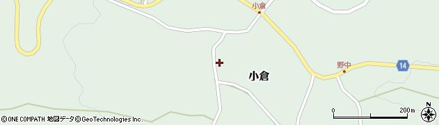 山形県上山市小倉17周辺の地図