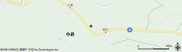山形県上山市小倉70周辺の地図