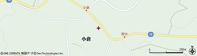 山形県上山市小倉43周辺の地図