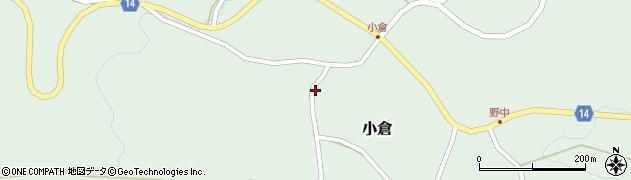山形県上山市小倉13周辺の地図