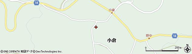 山形県上山市小倉12周辺の地図