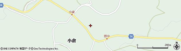山形県上山市小倉73周辺の地図