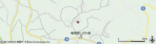 山形県上山市権現堂81周辺の地図