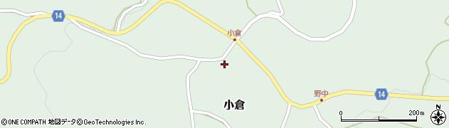 山形県上山市小倉35周辺の地図