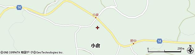 山形県上山市小倉39周辺の地図